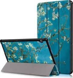 Etui do tabletu Alogy Etui Book Cover do Huawei MediaPad T5 10.1 Kwitnący migdałowiec