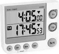 TFA 38.2025 double electronic timer