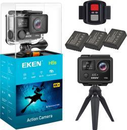 Kamera EKEN H6S 3X AKUMULATOR