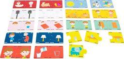 Small Foot Puzzle - przeciwieństwa   zabawka edukacyjna dla dzieci, pomoce Montessori uniw