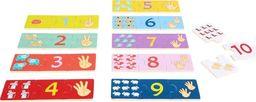 Small Foot Zabawa liczbami, puzzle ,  zabawka edukacyjna dla dzieci, nauka liczenia, pomoce montessori uniw
