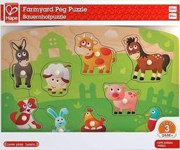 Hape Puzzle - zwierzęta wiejskie