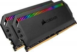 Pamięć Corsair Dominator Platinum, DDR4, 16 GB,3000MHz, CL15 (CMT16GX4M2C3000C15)