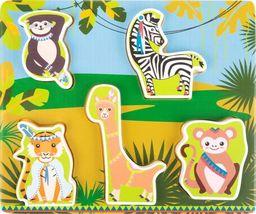 Small Foot Puzzle dla najmłodszych w pudełku Dżungla uniw
