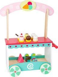 Small Foot Drewniany sklep , warzywniak, wózek z lodami dla dzieci do zabawy uniw