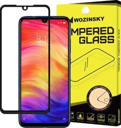 Wozinsky Wozinsky super wytrzymałe szkło hartowane Full Glue na cały ekran z ramką Case Friendly Xiaomi Redmi Note 7 czarny uniwersalny