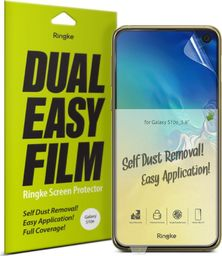 Ringke Ringke Dual Easy Film 2x łatwa w przyklejeniu folia Samsung Galaxy S10e (ESSG0010-RPKG) uniwersalny