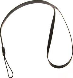 Hurtel Silikonowa smycz do telefonu na rękę szyję 33,5cm czarna uniwersalny