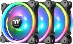 Thermaltake Ring Trio 14 LED RGB Plus 3-pack + Hub (CL-F077-PL14SW-A)