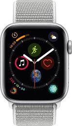 Smartwatch Apple Watch Series 4 GPS Srebrny  (MU6C2WB/A)