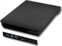 Napęd Qoltec Obudowa/kieszeń na napęd CD/DVD SATA USB 3.0 12.7mm -51867