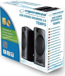 Głośniki komputerowe Esperanza EP148 Tempo