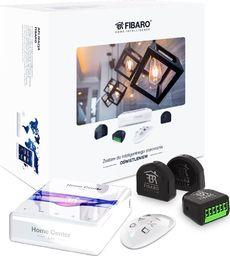 Fibaro Zestaw inteligentnego sterowania oświetlenia : Home Center Lite, Double Switch 2 x3, KeyFob-6046 zestaw - sterowanie oswietleniem