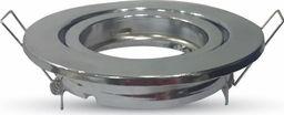 V-TAC Oprawa LED VT-7227RD-SS GU10 aluminium, chrom, okrągła-SKU3471