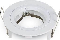 V-TAC Oprawa LED VT-774-SN GU10 81x34mm Aluminium Satynowy nikiel okrągła-SKU3643