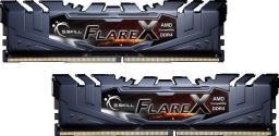 Pamięć G.Skill Flare X, DDR4, 16 GB, 3200MHz, CL16 (F4-3200C16D-16GFX)