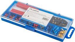 Lanberg Zestaw złączy do kabli + zaciskarka różne rodzaje 100 sztuk w pudełku -SCC01-TCC-IT101