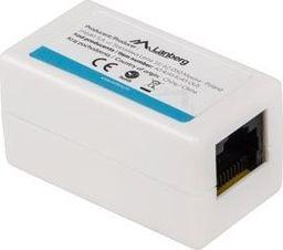Lanberg Adapter złączka sieciowa RJ45 x2 kat.6 -AD-RJ45-RJ45-OU6