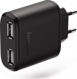 Ładowarka Hama sieciowa USB (2xUSB) 230V 4.8A (173608)