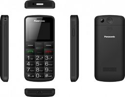 Telefon komórkowy Panasonic Telefon komórkowy dla seniora KX-TU110 czarny-KX-TU110EX BLACK