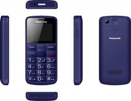 Telefon komórkowy Panasonic Telefon komórkowy dla seniora KX-TU110 niebieski-KX-TU110EX BLUE