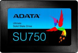 Dysk SSD ADATA Ultimate SU750 256 GB SATA3 (ASU750SS-256GT-C)