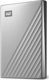 Dysk zewnętrzny Western Digital HDD My Passport Ultra 2 TB Srebrny (WDBC3C0020BSL-WESN)
