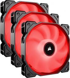 Corsair  AF120 LED Triple Pack - Red (CO-9050083-WW)