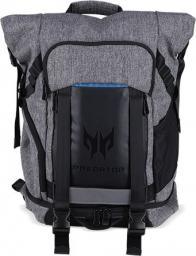 "Plecak Acer Acer PREDATOR GAMING ROLLTOP BACKPACK FOR 15"" NBs GRAY n TEAL BLUE (RETAIL PACK)"