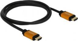 Kabel Delock HDMI - HDMI 1.5m czarny (85728)