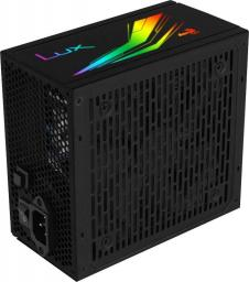 Zasilacz Aerocool LUX 550W RGB (AEROPGSLUXRGB-550)