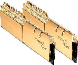 Pamięć G.Skill Trident Z Royal, DDR4, 32 GB,3000MHz, CL16 (F4-3000C16D-32GTRG)