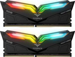 Pamięć Team Group Night Hawk, DDR4, 16 GB,4000MHz, CL18 (TF1D416G4000HC18EDC01)