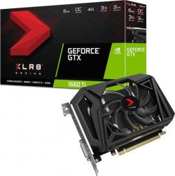 Karta graficzna PNY Technologies GeForce GTX 1660Ti XLR8 Gaming OC 6GB GDDR6 (VCG1660T6SFPPB-O)