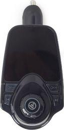 Odtwarzacz MP3 Gembird Gembird samochodowy transmiter/zestaw głośnomówiący Bluetooth+ładowarka sam.2,1A