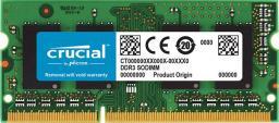Pamięć do laptopa Crucial 8GB, DDR3L, 1600MHz, CL11 (CT8G3S160BM)