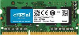 Pamięć do laptopa Crucial 4GB, DDR3L, 1600 MHz, CL11 (CT4G3S160BM)