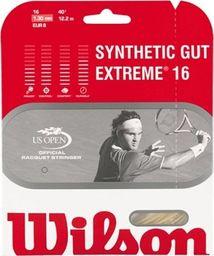 Wilson Naciąg Wilson Extreme SYNTHETIC GUT 16L Z9253 uniwersalny