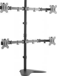 """LogiLink Stojak na biurko na cztery monitory,13-32"""", max. 8kg"""