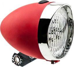 APG Lampa przednia Retro 3 diody LED ,160302 zasilane 3x AAA czerwona uniwersalny