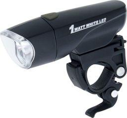 XC Light Lampa przednia 785 super jasna 1 WAT LED,  2-funkcje, wodoszczelna