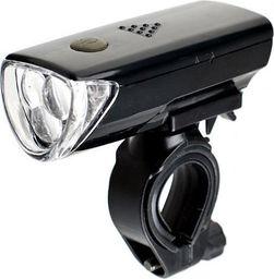 XC Light Lampa przednia XC Light 104B 3 funkcje, 5 diód Led, czarna uniwersalny