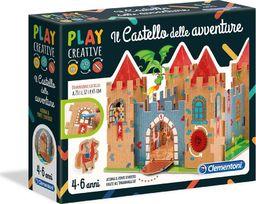 Clementoni Zestaw kreatywny Zamek przygód-15286