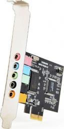 Karta dźwiękowa Gembird PCI-Express, 6-kanałowa, full-duplex (SC-5.1-4)