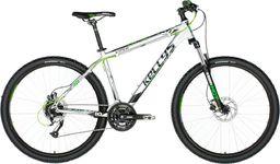 "Kellys Rower górski Viper 50 27.5"" silver-green neon 2018 19.5"""
