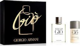 Giorgio Armani Giorgio Armani Acqua di Gio pour Homme  zestaw - woda toaletowa 100 ml + dezodorant sztyft 75 g 1