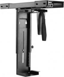 Techly Podblatowy podwieszany uchwyt na komputer PC regulowany przesuwny