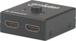 Manhattan Przełącznik/splitter HDMI (207850)