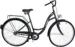"""BikeLand Rower miejski Vintage łabędź 26"""" czarny - bez koszyka uniwersalny"""