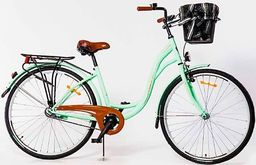 """Storm Rower miejski 26"""" Amsterdam 1-biegowy miętowy uniwersalny"""